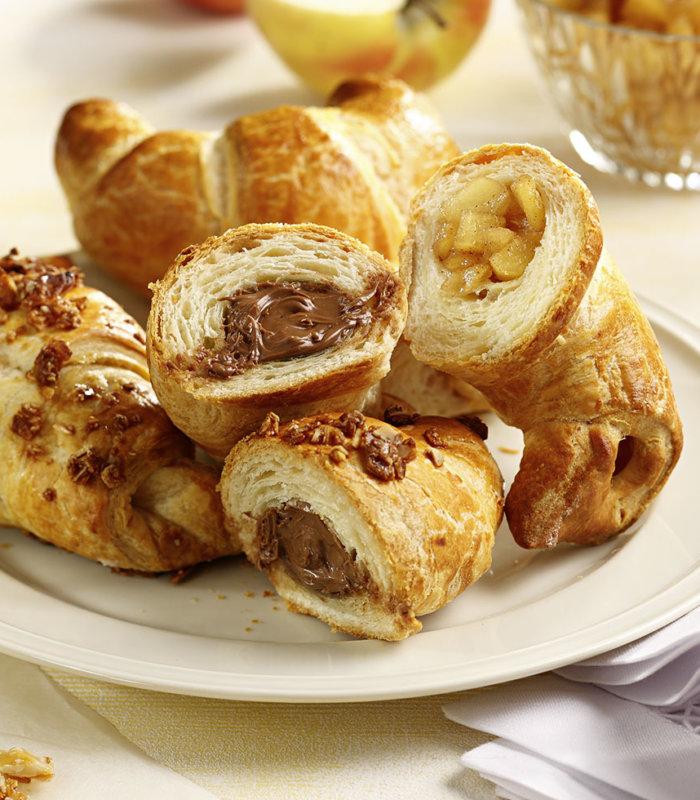 Apfel-Zimt Croissants Tante Fanny