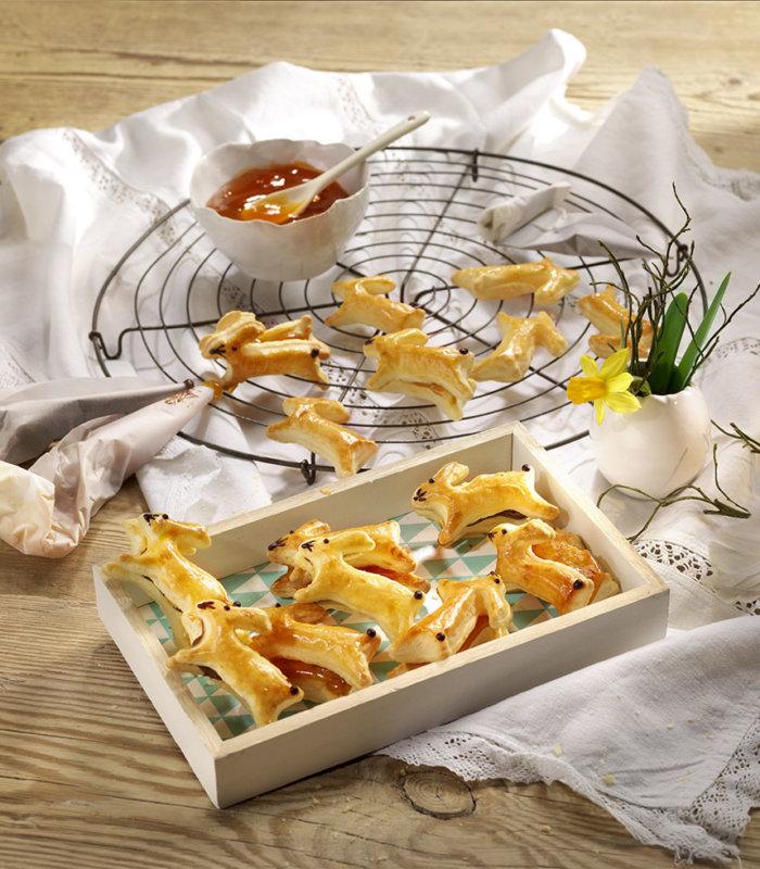 Rezept Blätterteig-Hasen Tante Fanny