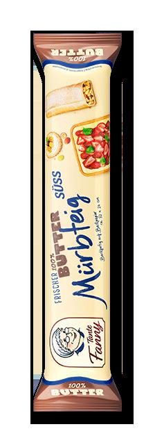 Süßer Butter-Mürbteig