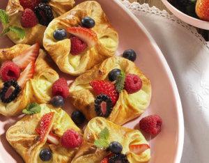 Fruchtige Topfen-Golatschen