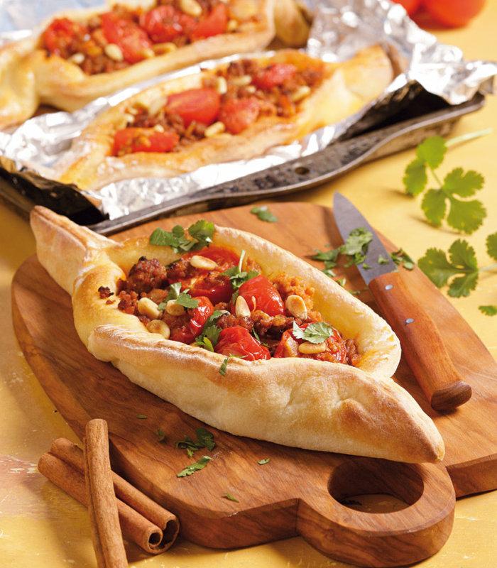 Pizza nach türkischer Art Tante Fanny