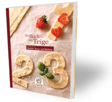 1 Buch - 3 Teige Rezeptbuch