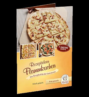 Rezeptheft Flammkuchen Gastronomie Tante Fanny