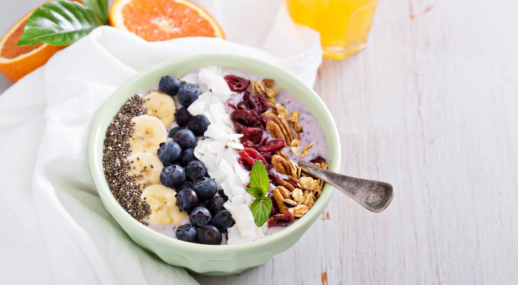 Smoothie Bowl - Frühstück