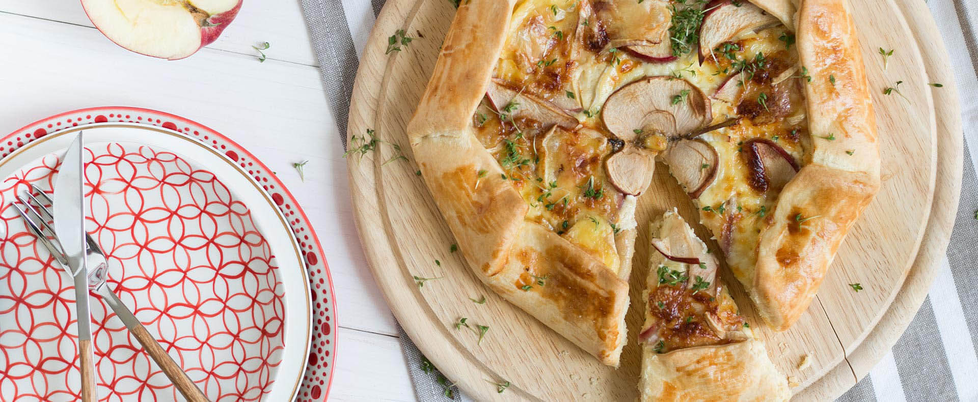 Camembert Galette Tante Fanny