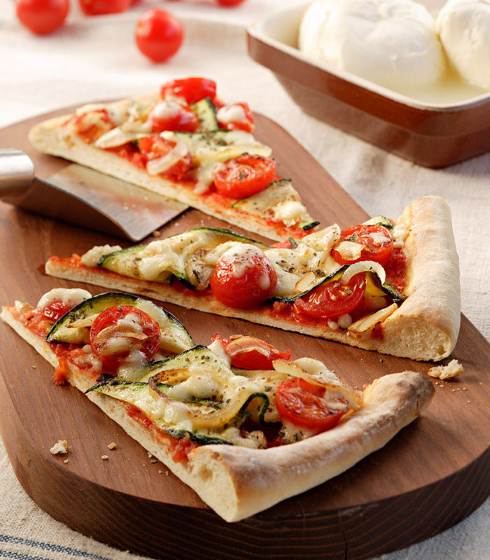 Mediterrane Pizzaecken Tante Fanny