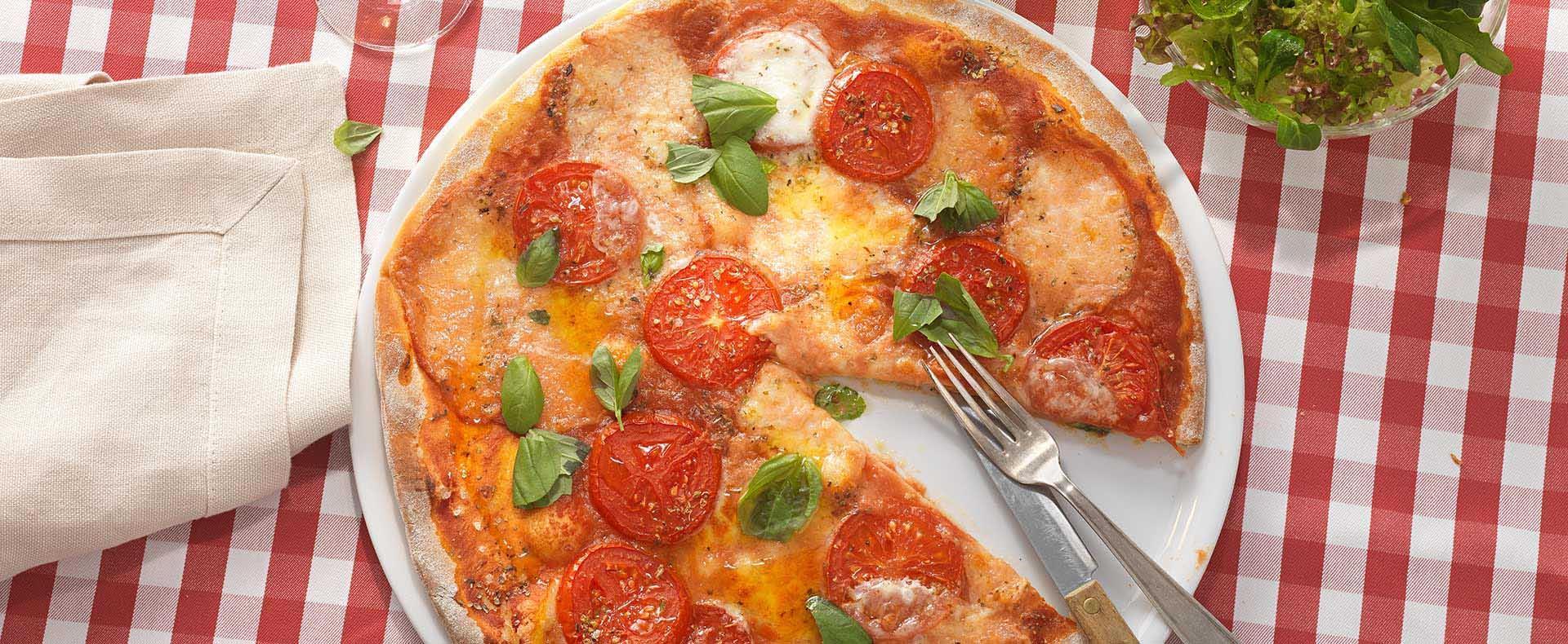 Pizza Tomate Mozzarella Tante Fanny