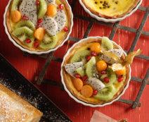 Tartelettes mit Passionsfrucht