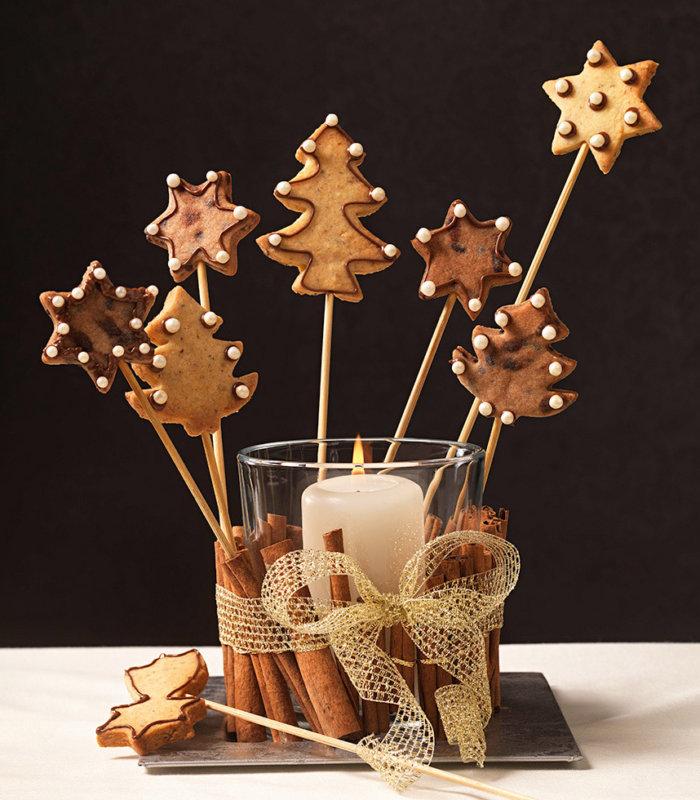 Weihnachts Keks Pops Tante Fanny