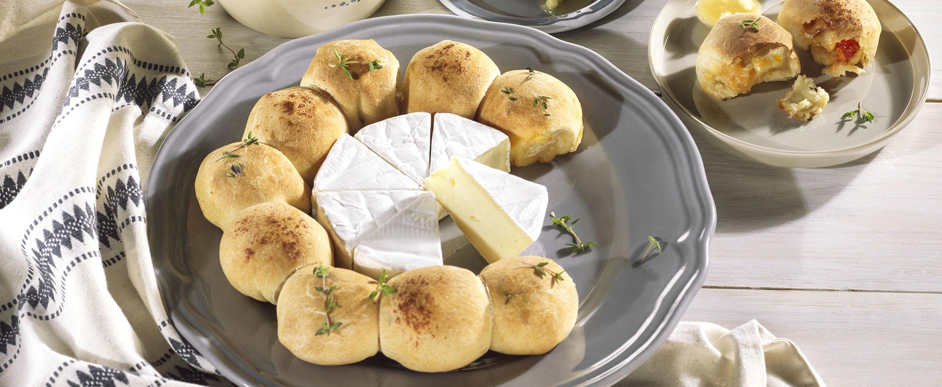 Pizzabällchen mit Camembert