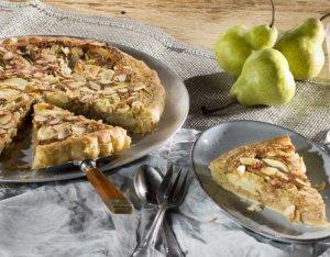 Blätterteig-Mandel-Tarte