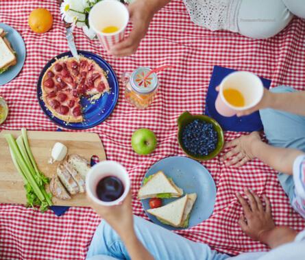 Picknick Querkochen