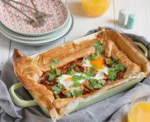 Frühstücks-Blätterteig-Quiche