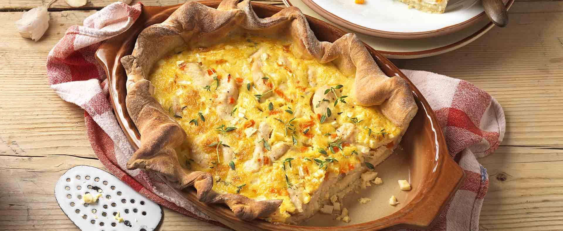 Rezept Ungarische Hühnerwähe Tante Fanny