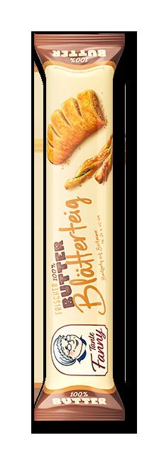Frischer Butter-Blätterteig