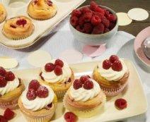 Schnecken-Muffins mit Cheesecakefüllung
