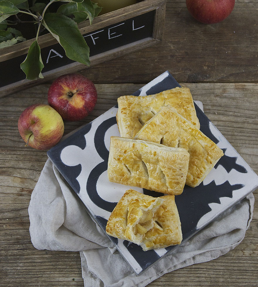 Rezept Apfel-Taschen Tante Fanny