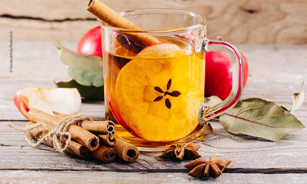 Heißer Apfelcider - Heiße Getränke - Querkochen
