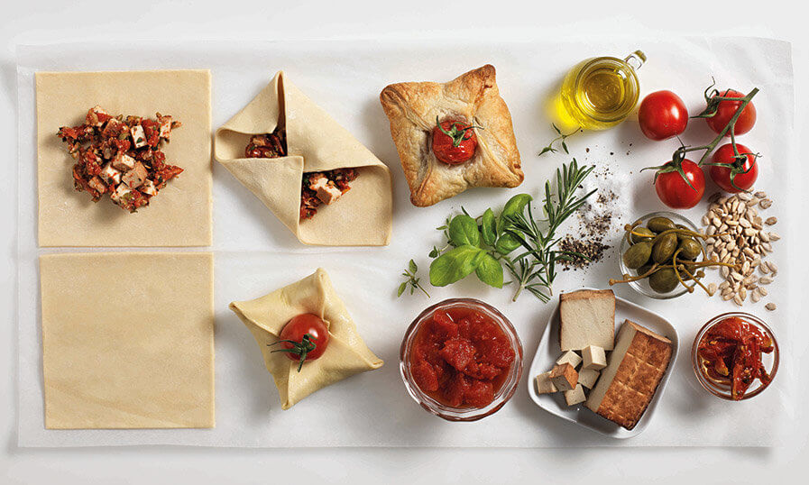 Rezept Vegane Tomaten-Golatschen mit Räuchertofu Tante Fanny