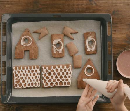 Knusper, knusper: So baust du dein Lebkuchenhaus - Bild