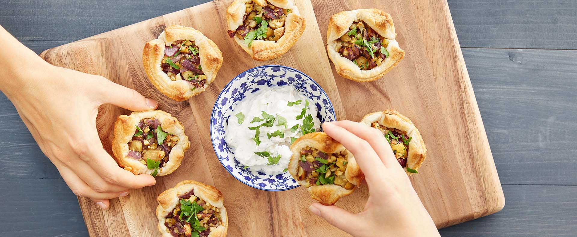 Rezept Vegane Blätterteig-Muffins mit Maroni Tante Fanny