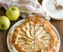 Süße Apfelgalette