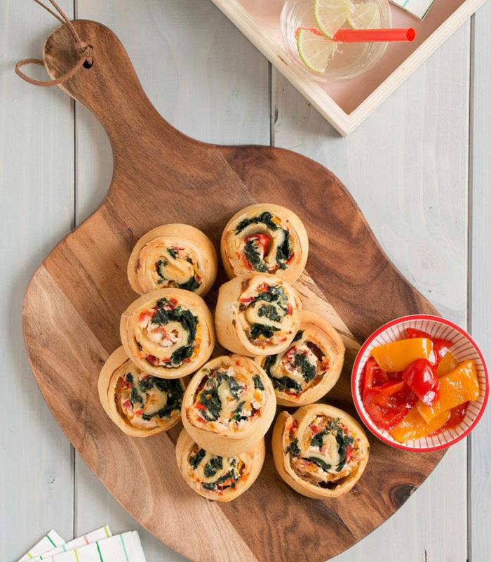 Rezept Vegetarische Pizzschnecken Tante Fanny