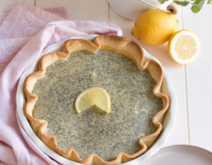 Zitronen-Mohn Tarte