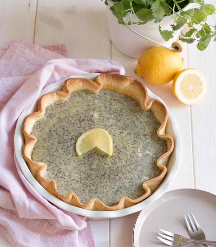 Rezept Zitronen- Mohn Tarte Tante Fanny