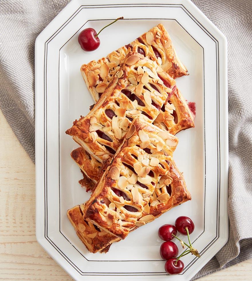 Kirsch-Pudding Taschen Tante Fanny Rezept