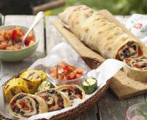 Oliven-Tomaten Ciabatta