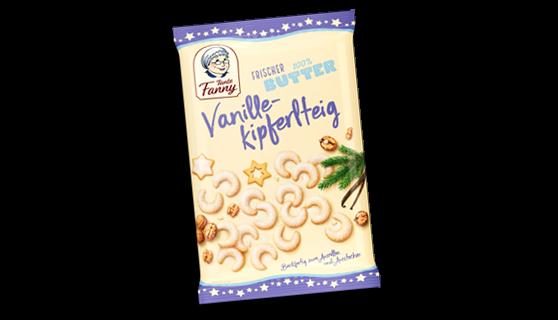 Butter Vanillekipferlteig