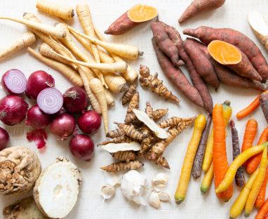 Rezepte mit Gemüse unter der Erde