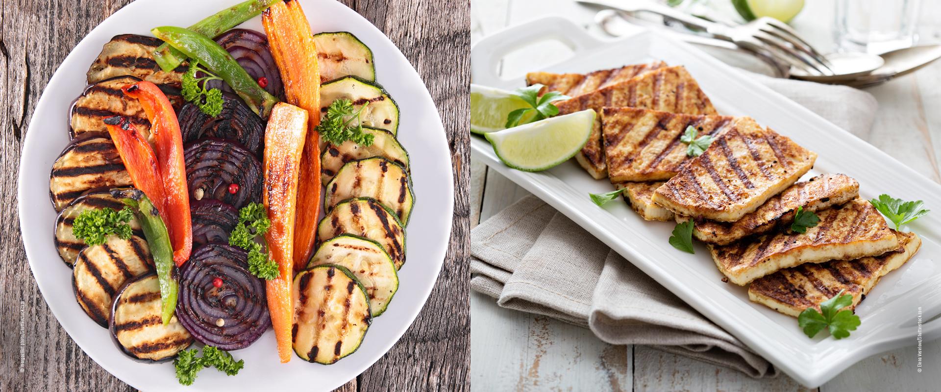 Vegan Grillen Gemüse & Tofu