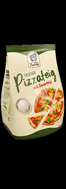 Pizzateig mit Sauerteig