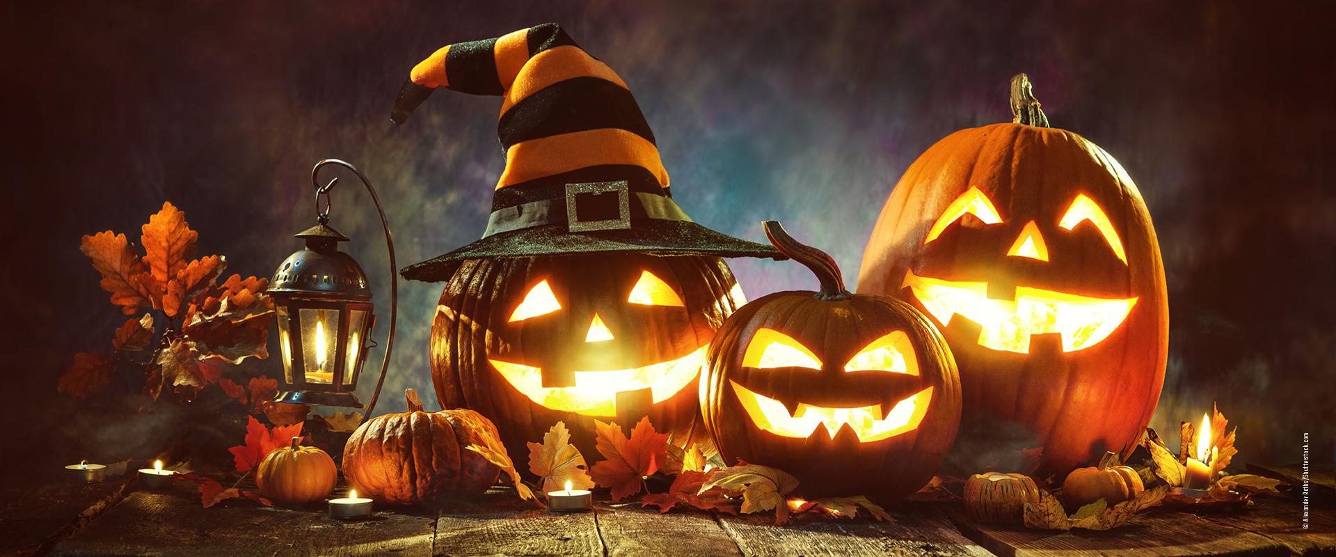 Halloween Kürbis-Laterne