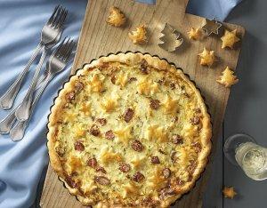 Winter-Pie mit Cabanossi