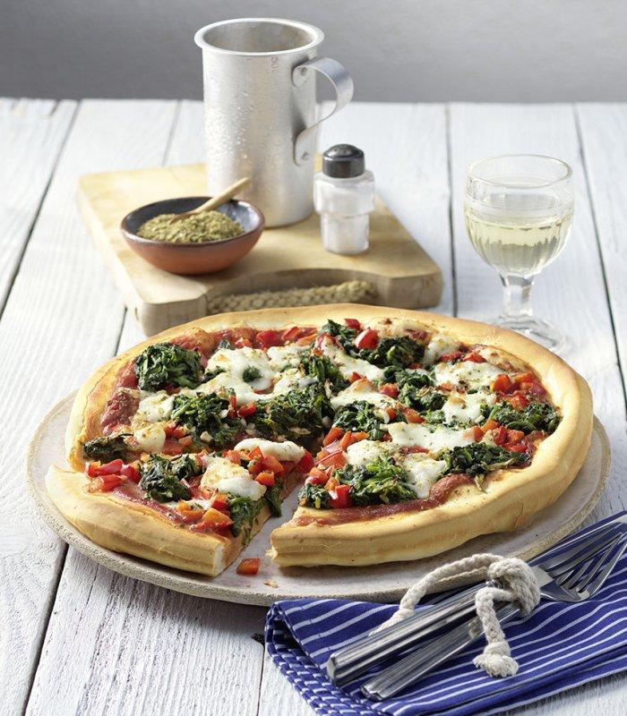 Pizza Spinat