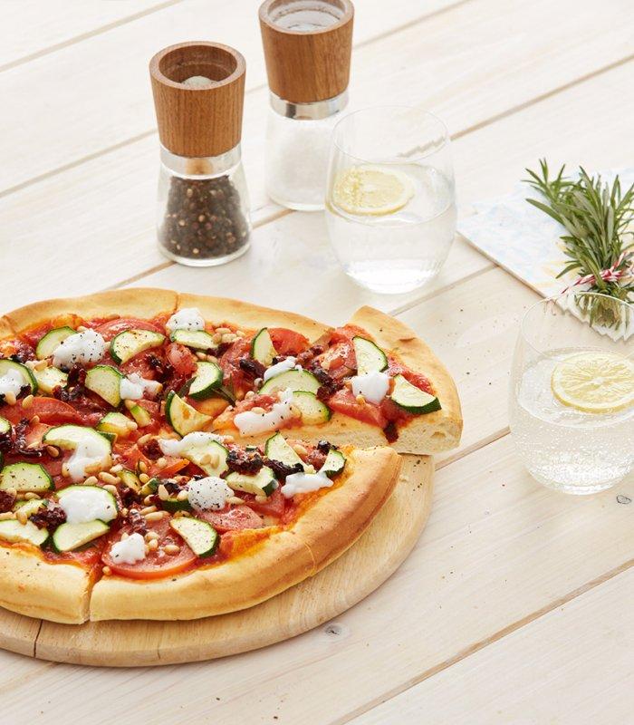 Gemüsepizza vegan