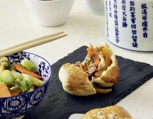 Chinesische Bao Buns