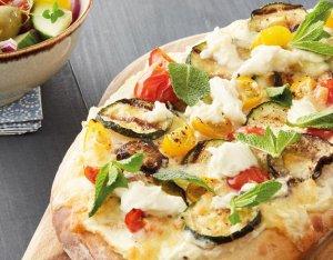 Pinsa mit Grill-Gemüse