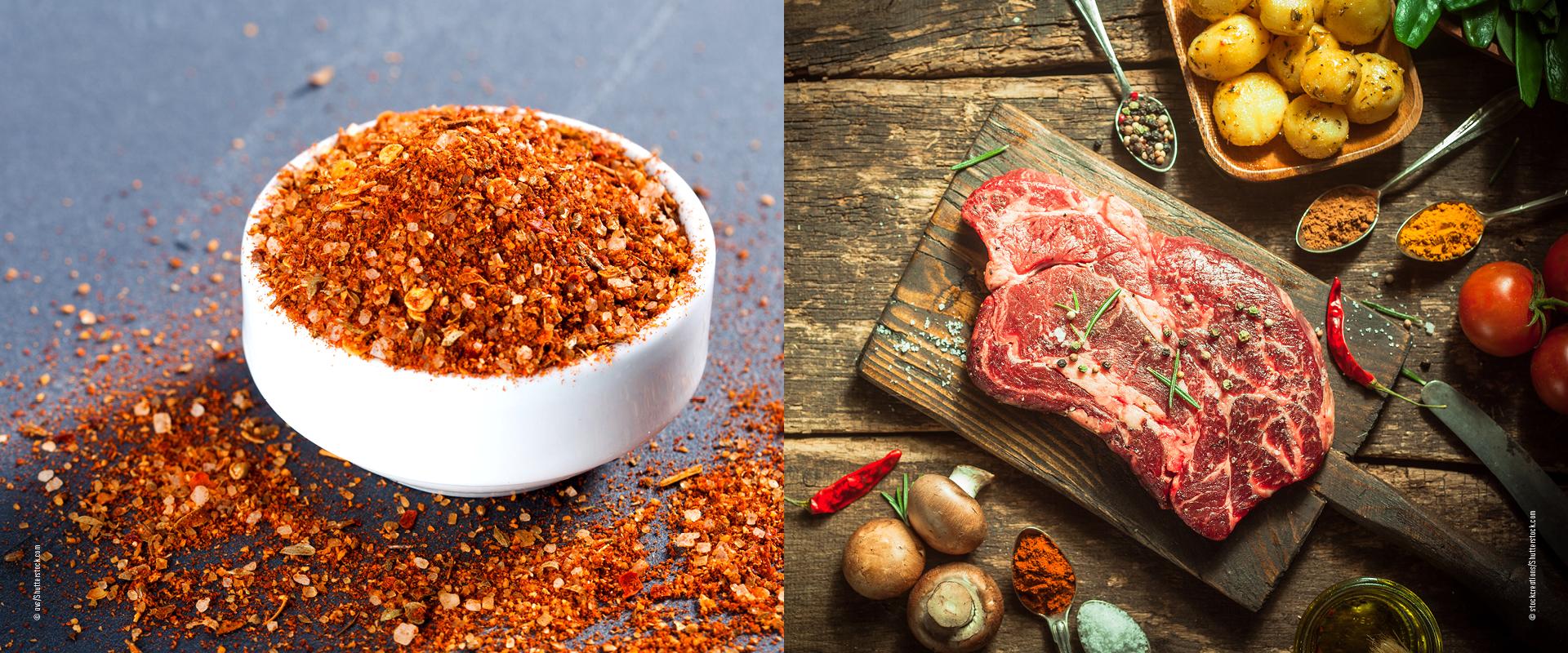 Rubs für Steaks