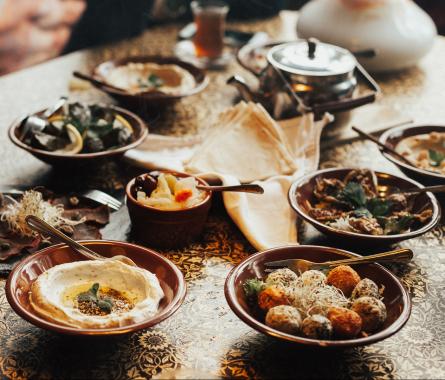 Orientalisch essen