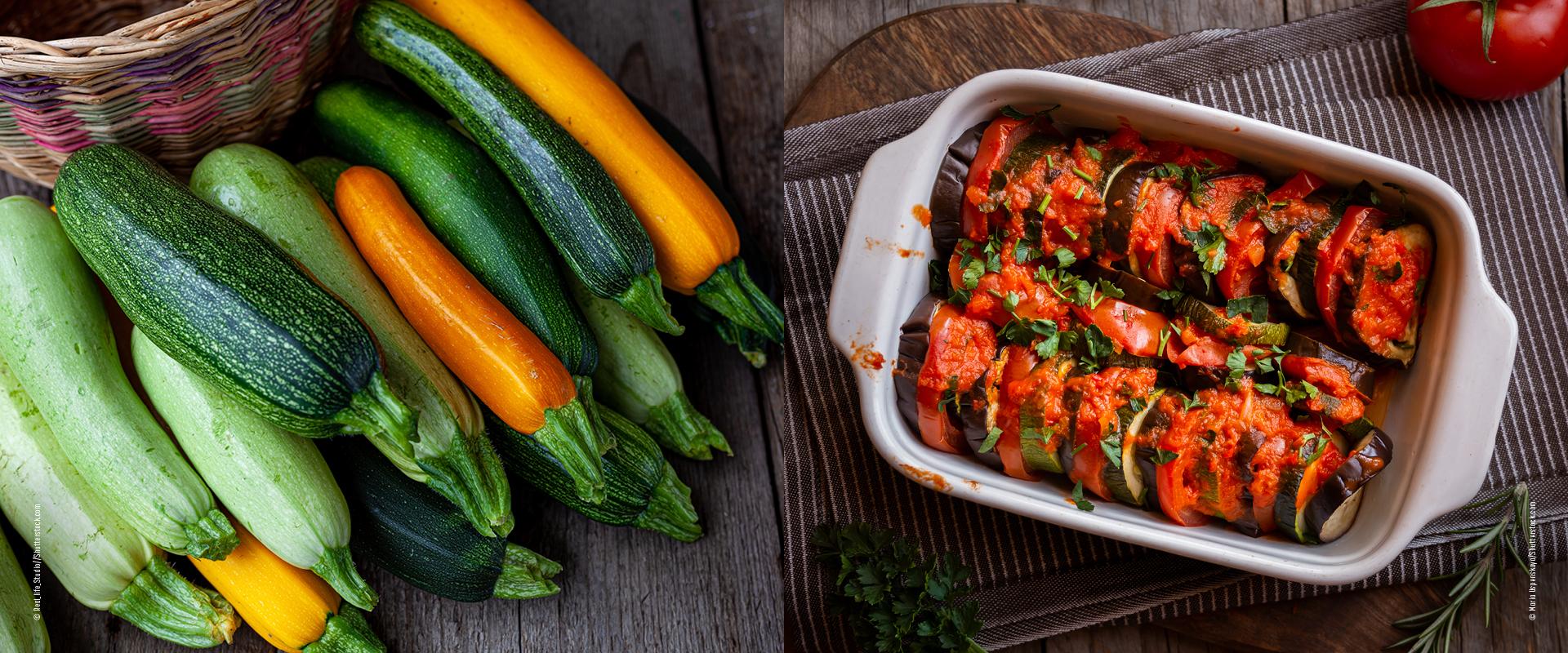 Ratatouille mit Zucchini