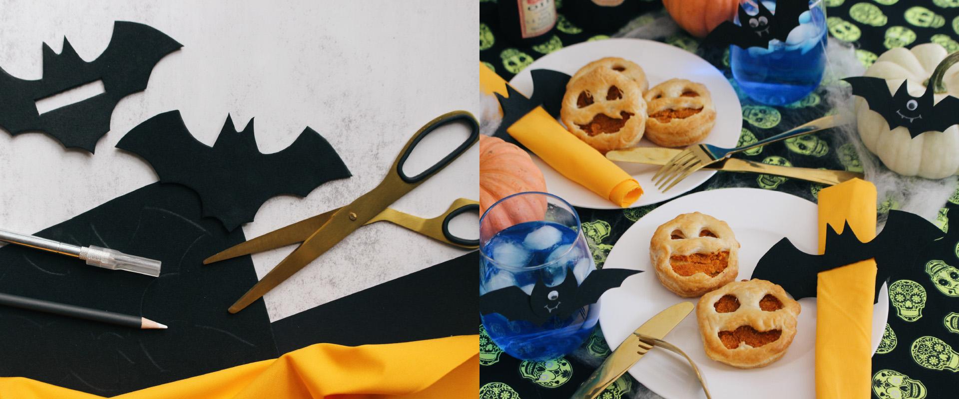 Serviettenringe für Halloween